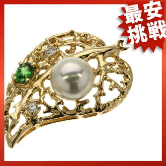 TASAUI GA-NET and pearl necklaces and pendants K18 gold women