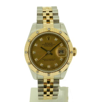 ROLEX179313G Datejust watch SS/YG ladies