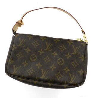 LOUIS VUITTON ポシェットアクセソワール M51980 accessory pouch Monogram Canvas ladies fs3gm
