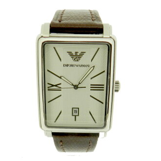 AR0137 watch SS / leather men's