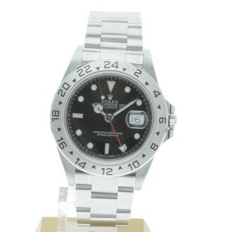 2 16570 ROLEX オイスターパーペチュアルデイトエクスプローラー watch SS men