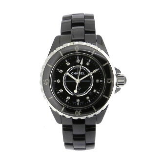 CHANELJ12 black H1625 12PD watches ceramic women's