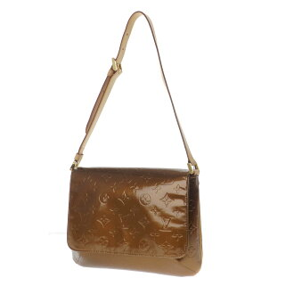 LOUIS VUITTON Thompson M91301 shoulder bag モノグラムヴェルニレザー ladies fs3gm