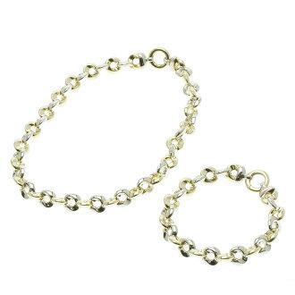 K18 necklace K18 gold ladies