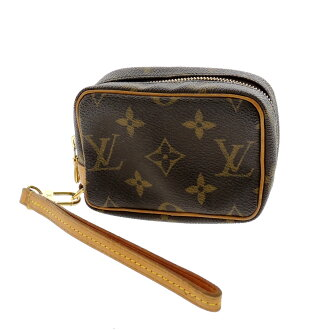LOUIS VUITTON trueswbitey M58030 accessory pouch Monogram Canvas ladies