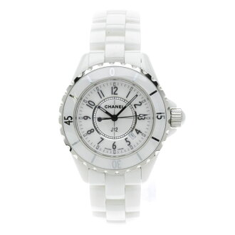 CHANELJ12 watch white ceramic Lady's