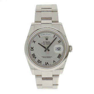118209 ROLEX D date watch WG men