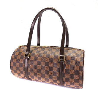 LOUIS VUITTON Papillon bag with N51304 Totes Damier Canvas Womens