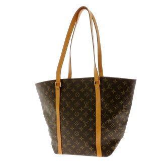 LOUIS VUITTON case shopping M51108 shoulder bag monogram canvas Lady's