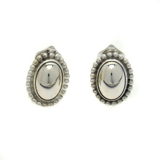 Georg Jensen Dome type earrings Lady's fs3gm