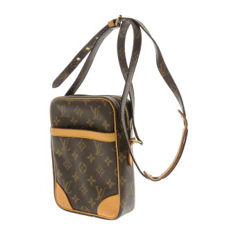 LOUIS VUITTON ダヌーブ M45262 shoulder bag monogram canvas Lady's fs3gm