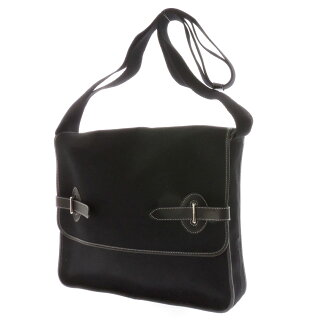 HERMES エナベンチュラ shoulder bags canvas / leather unisex fs3gm