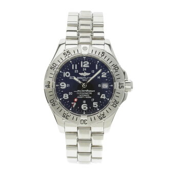 BREITLING supermarket ocean A17360 watch SS men