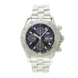 BREITLING supermarket ocean chronograph watch SS men