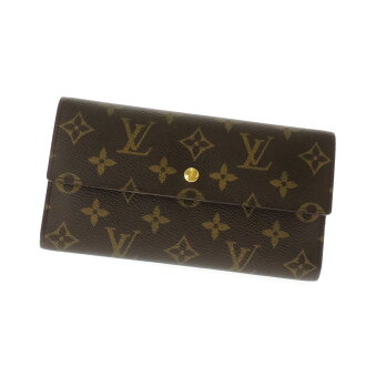 LOUIS VUITTON ポルトフォイユインターナショナル M61217 long wallet (there is a coin purse) monogram canvas unisex