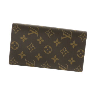LOUIS VUITTON ポルトフォイユコロンブス long wallet (there is a coin purse) monogram canvas unisex fs3gm