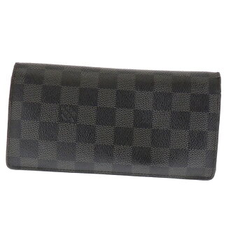 LOUIS VUITTON brothers wallets (purses and) Damier Canvas unisex upup7