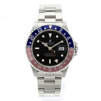 ROLEX16700 Oyster Perpetual date GMT master 1 OH already watch SS mens upup7