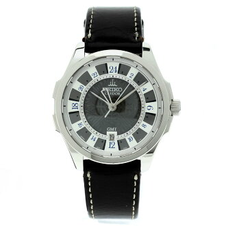 SEIKO credor watch SS / leather men's