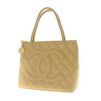CHANEL reproduction Thoth tote bag caviar skin Lady's