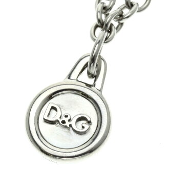 D&G logo motif necklace unisex