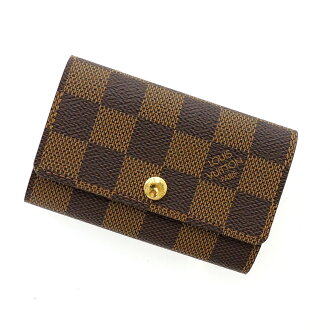 6 LOUIS VUITTON ミュルティクレ N62630 key Kay Mie Suda canvas unisex fs3gm