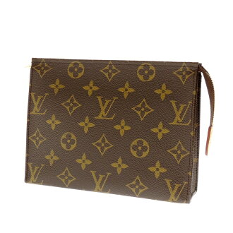 LOUIS VUITTON bosh toilette M47544 makeup porch monogram canvas Lady's