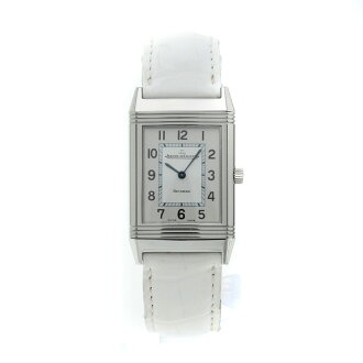 JAEGER-LECOULTRE Reverso classic watch SS / Leather Womens