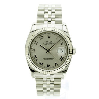 ROLEX Oyster Perpetual Datejust 116234 new. K18WG/SS men's watch