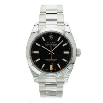 116400 ROLEX オイスターパーペチュアルミルガウス watch SS men