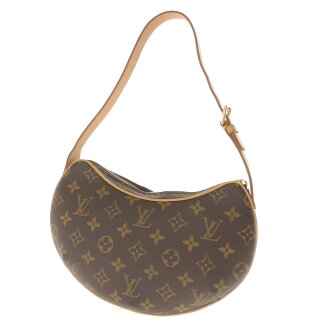 LOUIS VUITTON ポシェトクロワッサン PM M51510 shoulder bag monogram canvas Lady's fs3gm
