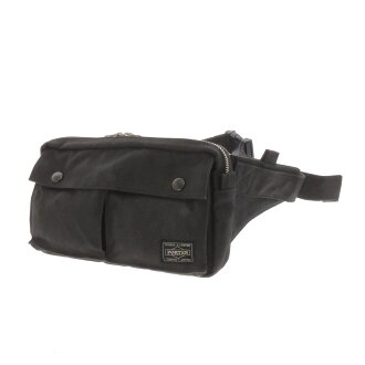 Yoshida Kaban PORTER Porter soft denim shoulder bag canvas unisex
