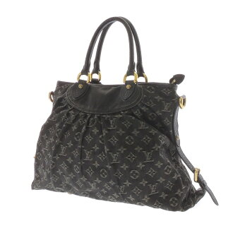 LOUIS VUITTON ネオカビィ MM M95351 shoulder bag monogram denim Lady's