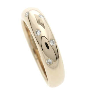 VANDOME diamond ring K18 pink gold Lady's