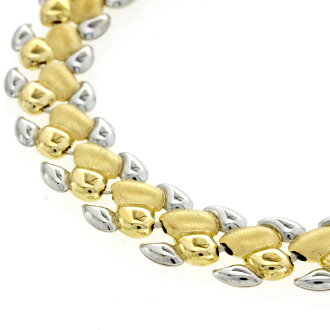 Chain necklace K18 Gold / Platinum PT850 ladies