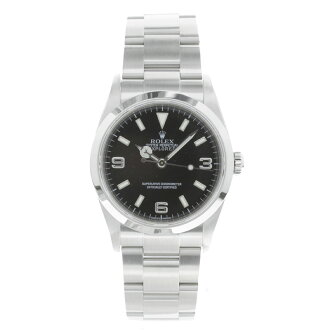 1 ROLEX Explorer 114270 watch SS men