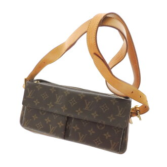 LOUIS VUITTON ヴィヴァシテ MM M51164 shoulder bag Monogram Canvas ladies