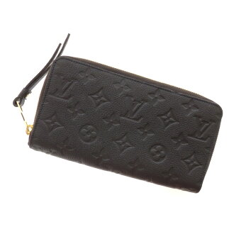 LOUIS VUITTON ポルトフォイユスクレットロン M93435 long wallet (there is a coin purse) leather Lady's