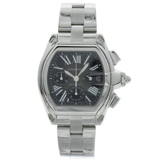 CARTIER Roadster Chrono Watch SS men