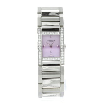 PHILIPPE CHARRIOL メジェーヴダイヤモンド watch SS Lady's fs3gm