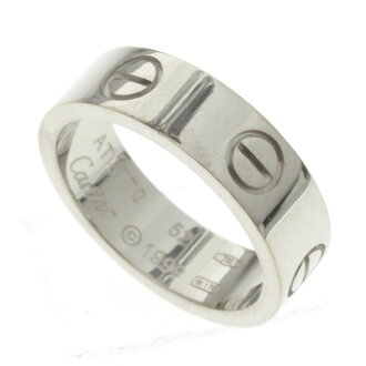 CARTIER... ring K18 white gold ladies