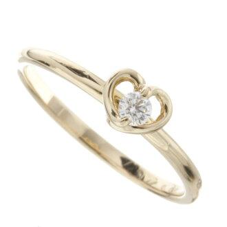 Ponte Vecchio diamond ring K18 Pink ladies