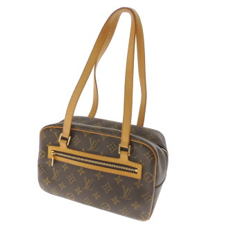 LOUIS VUITTON cite MM M51182 shoulder bag Monogram Canvas ladies