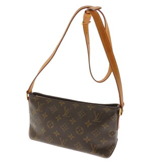 LOUIS VUITTON トローター M51240 shoulder bag monogram canvas Lady's fs3gm