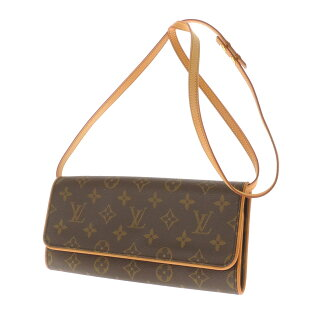 LOUIS VUITTON ポシェトツイン GM M51852 shoulder bag monogram canvas Lady's