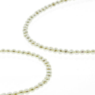Necklace K18 gold Lady's with the SELECT JEWELRY fresh water pearl / bracelet