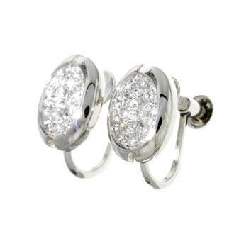 SELECT JEWELRY diamonds earrings Platinum PT900 ladies fs3gm