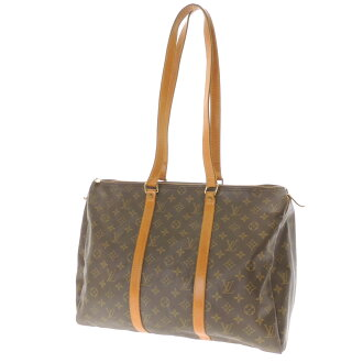 Women's shoulder bag Monogram Canvas, LOUIS VUITTON Flannery M51115