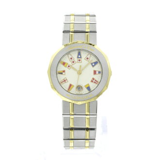 CORUM admirals Cup watches SS/K18YG ladies