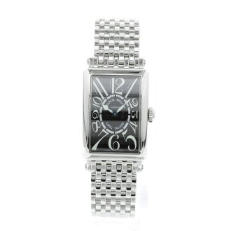 FRANCK MULLER Long Island 902 QZ wristwatch SS Womens